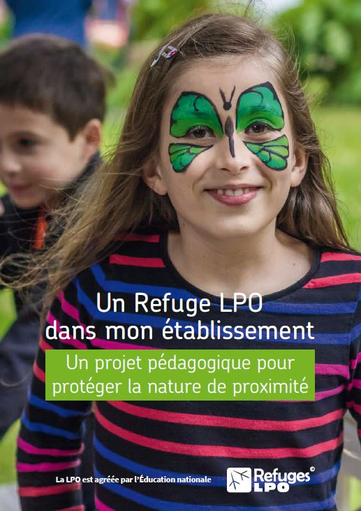 Plaquette de présentation refuge LPO