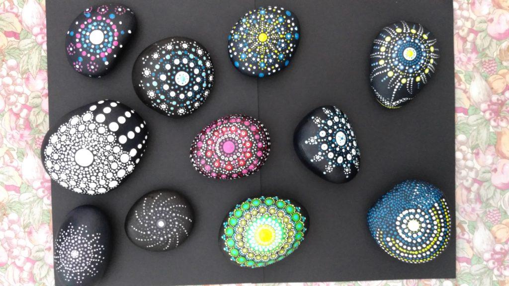 Atelier MANDALA  stone @ serre spiruline de Provence
