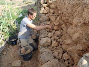 Atelier maçonnerie à pierres sèches( complet) @ serre spiruline de Provence