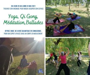 STAGE YOGA- QI GONG @ region Montpellier
